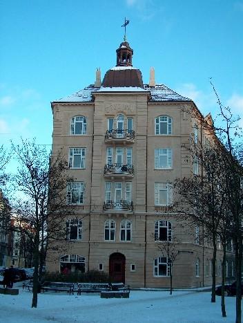 Ejendommen set fra Østerbrogade